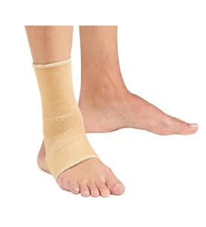Open Heel Elastic Ankle Sleeve